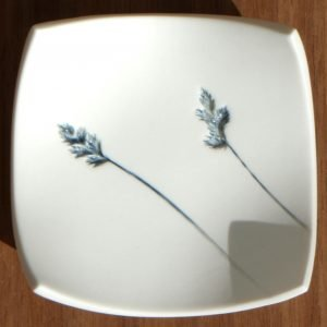 Small Flora Square Dish