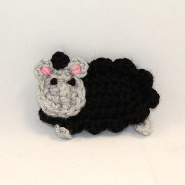 Connemara Black Sheep Fridge Magnet