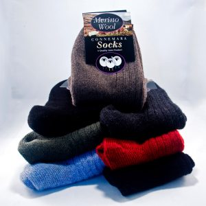Merino Wool Socks, Connemara