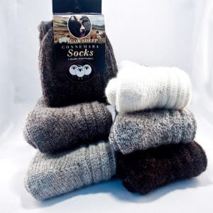 Wool Socks, Connemara – 100% Pure New Wool