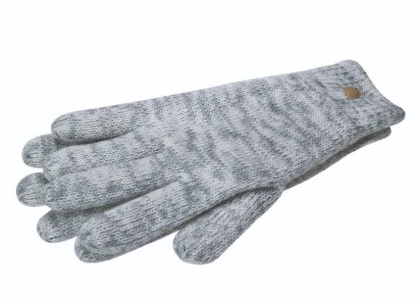 Grey woollen Gloves