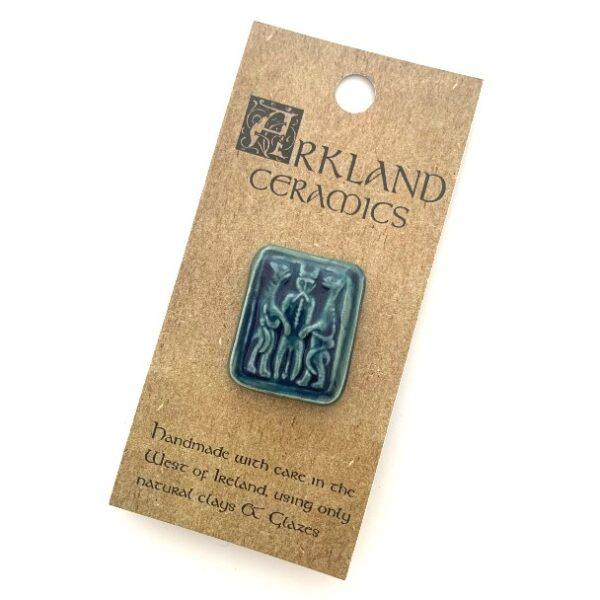 Arkland Ceramics Brooch