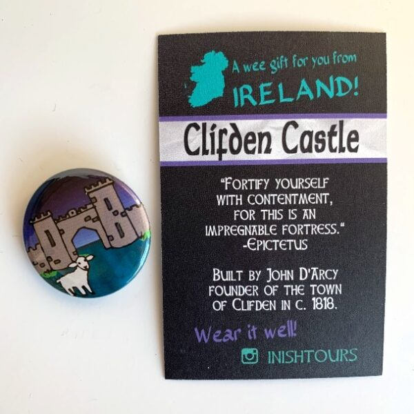 Clifden Castle Badge