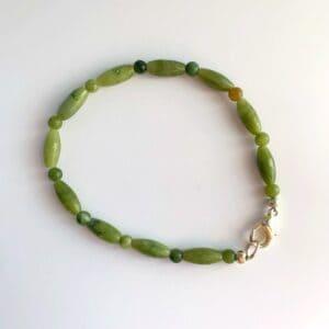 Connemara Marble Long Oval Bracelet