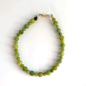 Connemara Marble Small Beaded Round Bracelet