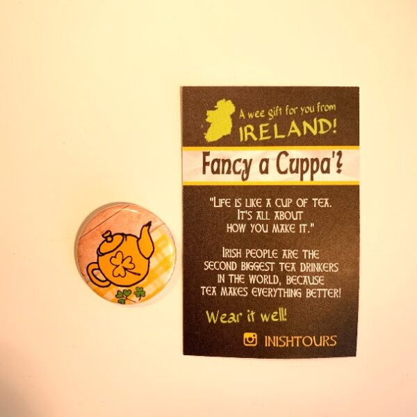 Fancy A Cuppa - Badge