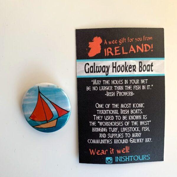 Galway Hooker Badge