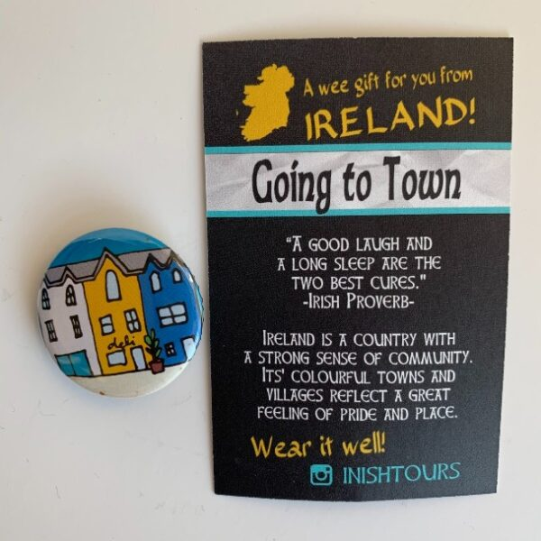 Going to Town Badge